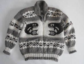 a63b713a42b0 A genuine Cowichan sweater from the First Nations People of British ...