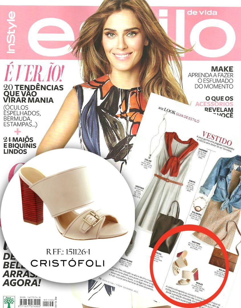 Clipping Cristófoli - Revista Estilo - Novembro 2014