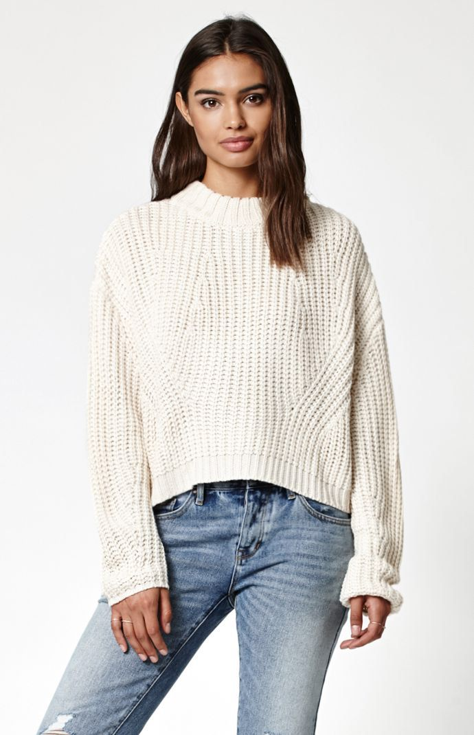 fcec4be6af3 Hooked on Chunky Cocoon Mock Neck Sweater that I found on the PacSun ...