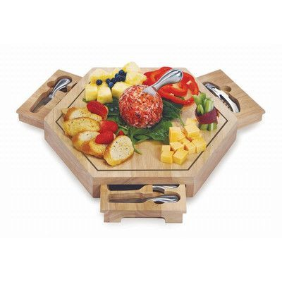 Picnic Plus By Spectrum Bergamo 5 Piece Cheese Board And Platter Set Wooden Cheese Board Cheese Platter Board Wood Cheese Board