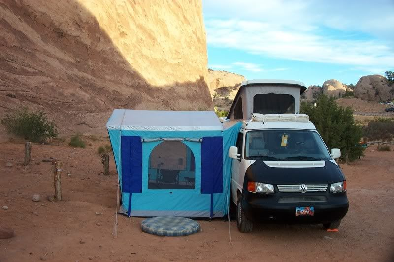Cool Eurovan c&er with side tent. & Cool Eurovan camper with side tent. | Camper Van camping ...