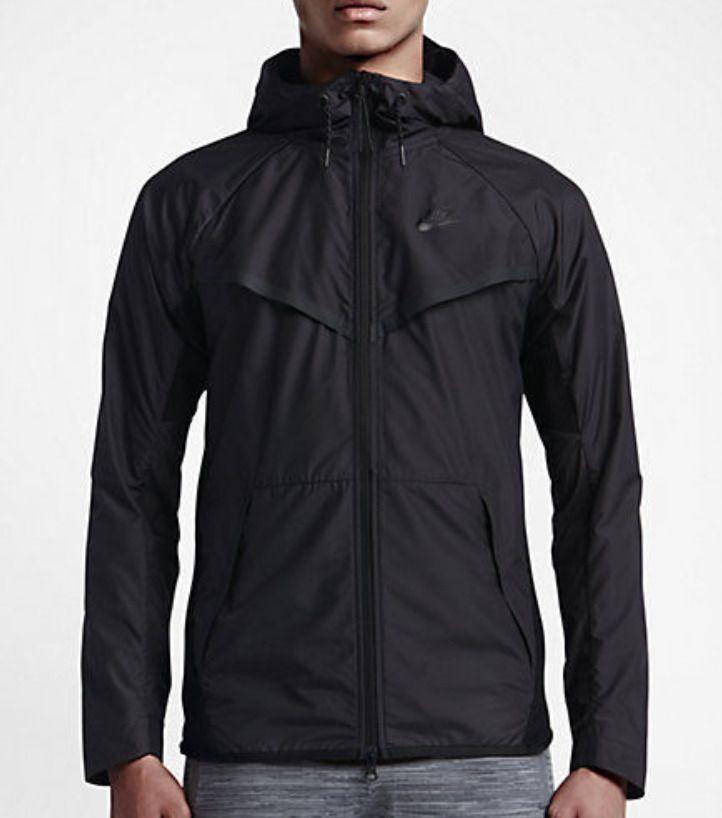 b3d00015f05d Nike Tech Hypermesh Windrunner Jacket Mens XL Black 826068 010  Nike  Jacket
