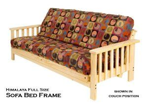 Futon Frame And Mattress Set Made In America Affordable And Super Strong Sofa Style By Room Doctor Futon Frames Futon Bed Frames Sofa Bed Frame Sofa Styling Wooden futon frame and mattress set