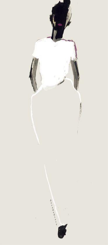Bernadette Pascua... looks like a jil sander
