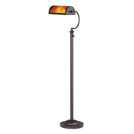 buy popular 0a294 9d9f5 Adjustable Energy Saving Mica Shade Bankers Floor Lamp ...