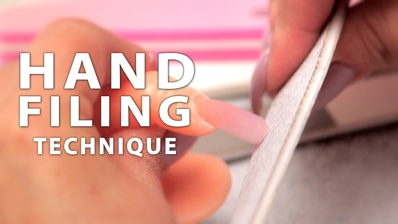 DIY Nail Workshop - Hand Filing Technique | Nails & Toes Designs to ...