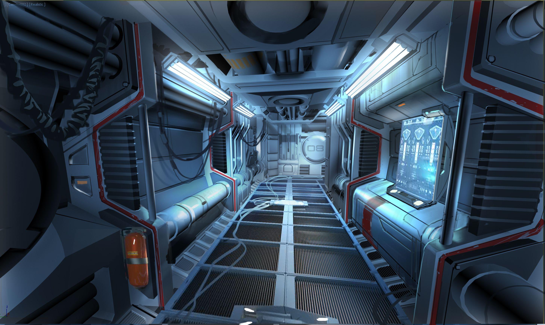 alien inside ship - HD1920×1144