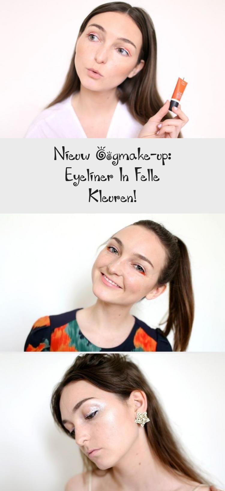 Nieuw oogmake-up: eyeliner in felle kleuren!  make-up De laatste tijd is er een nieuwe make-uptrend
