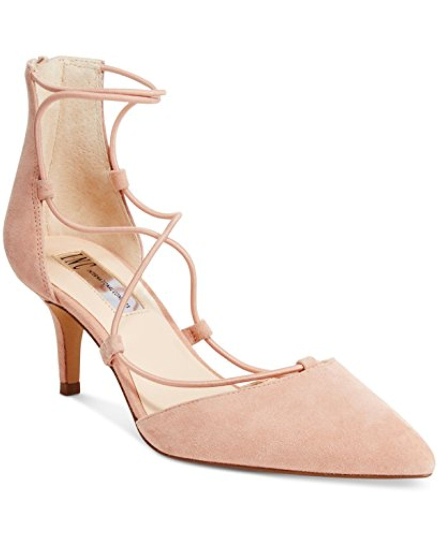 54191400881 Inc International Concepts Daree Lace-Up Pumps Women s Shoes -- Awesome  products selected by Anna Churchill