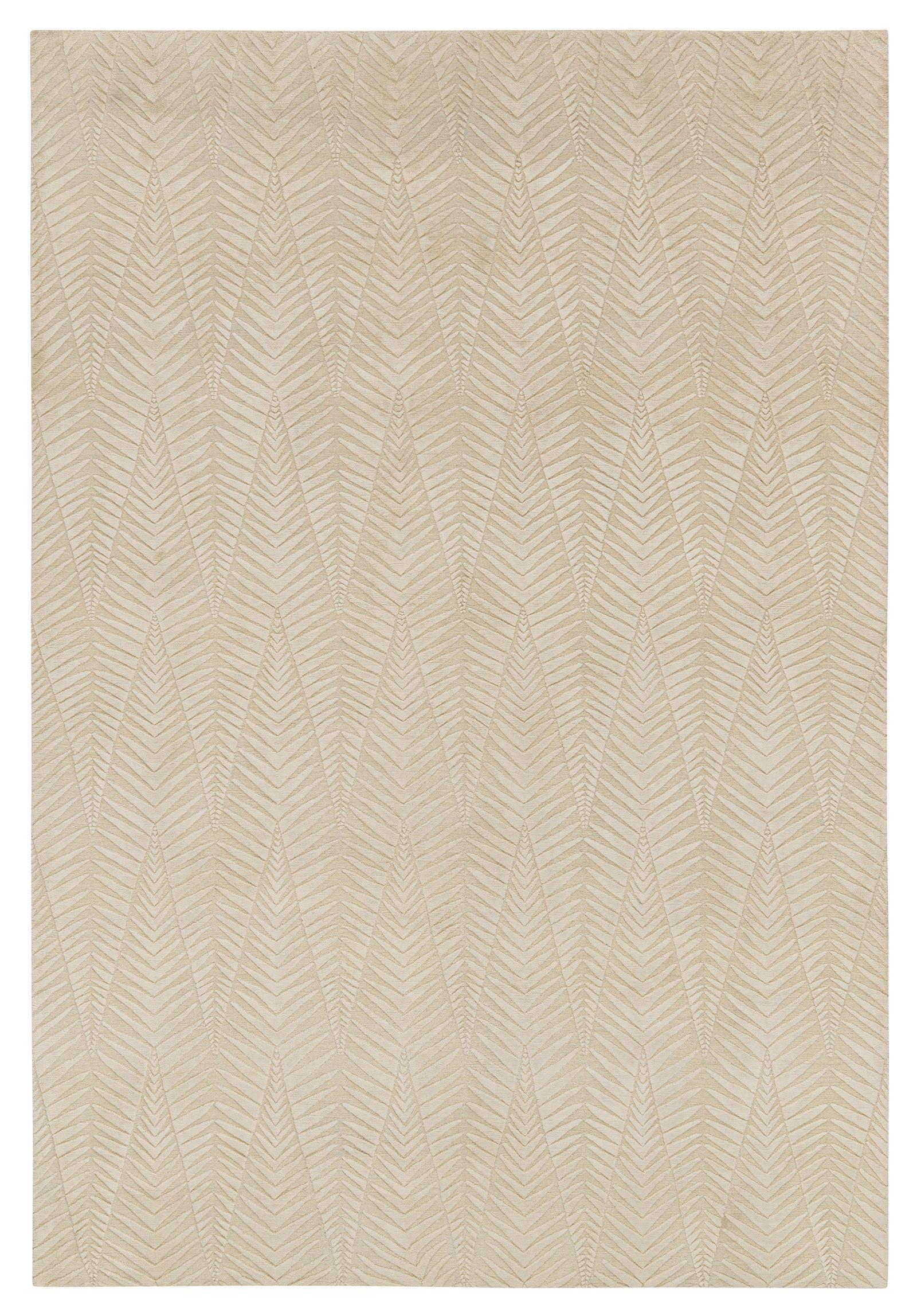 Zebra Pale By Neisha Crosland Wool And Silk Contemporary Rugs