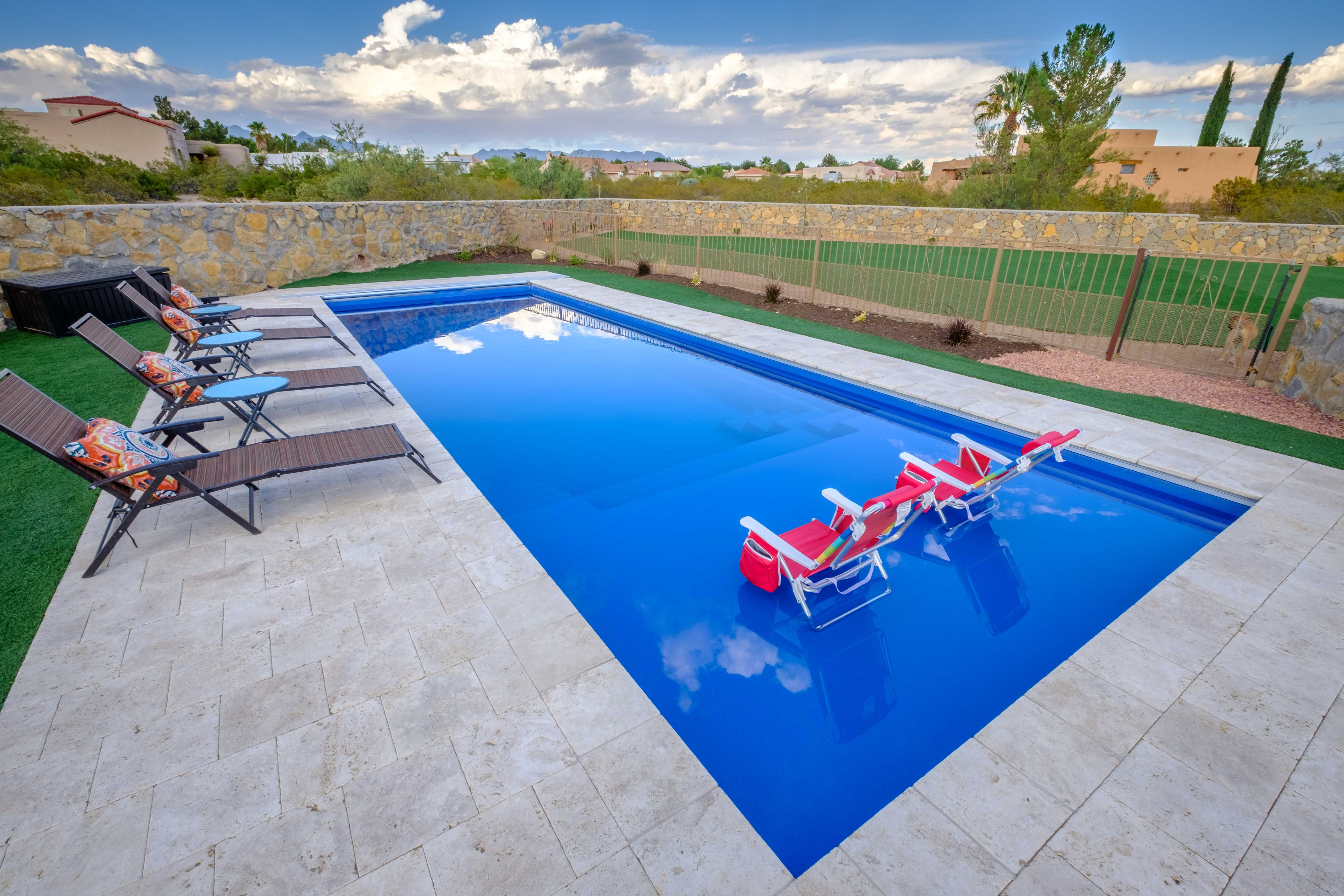 Happiness Is Having Your Very Own Imagine Pools Freedom Fiberglass