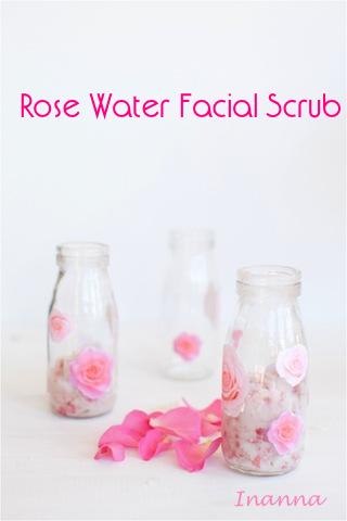 سكرآب الورد للوجه لجميع آنواع البشرة Rose Facial Scrub Facial Scrubs Rose Water Rose