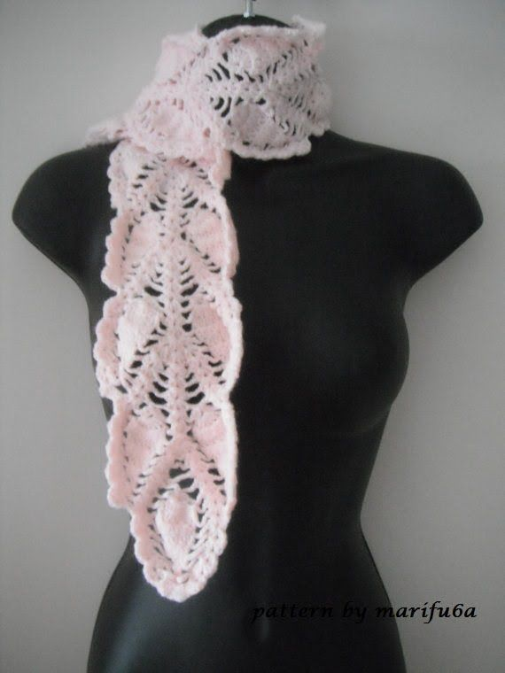 Free Diagram Patterns Crochet Scarves Electrical Drawing Wiring