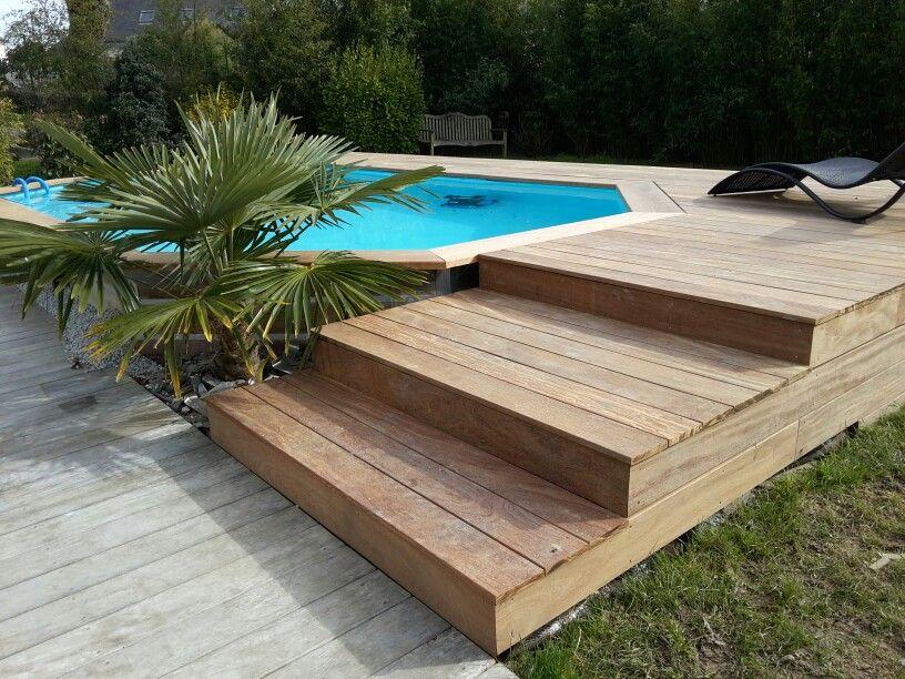 Terrasse bois et piscine Pool Alternatives Pinterest Backyard
