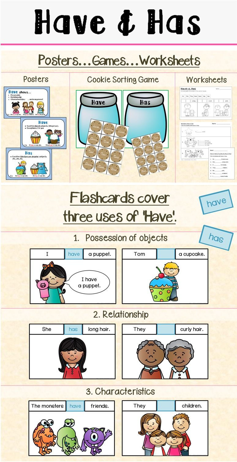 Uncategorized Has And Have Worksheets have has grammar worksheets learning and preschool literacy grammar