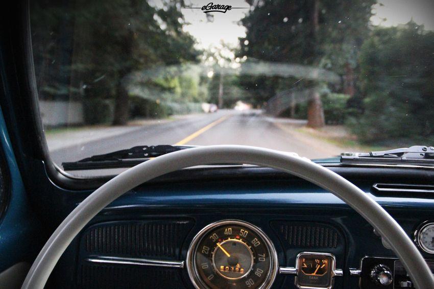 the lights always looked better dim on the dash - Volkswagen Beetle 66'