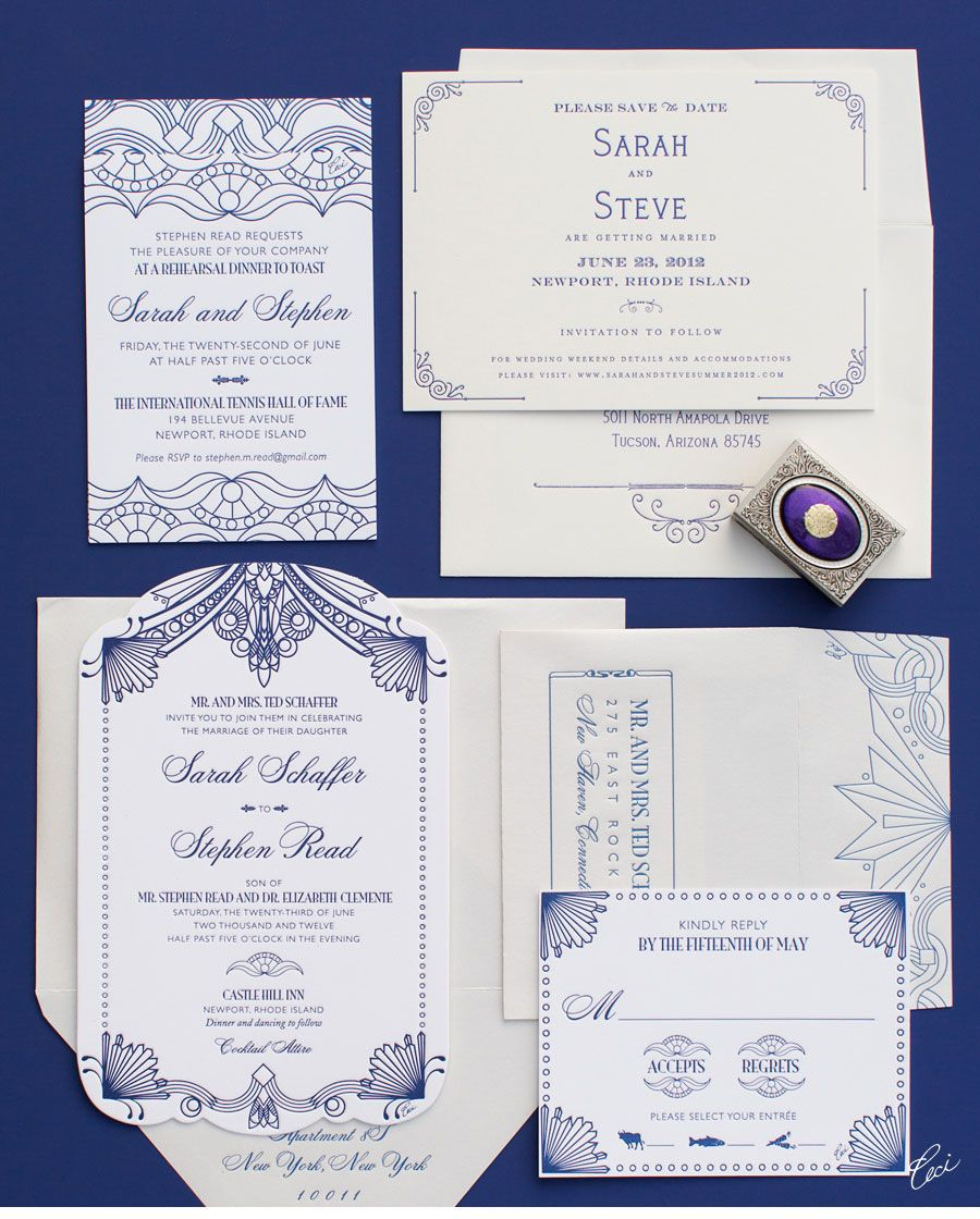 Cost Of Printing Wedding Invitations: Luxury Wedding Invitations By Ceci New York