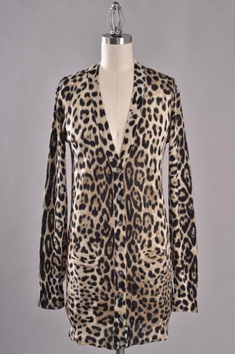 Grandpa's Leopard Cardigan #swoonboutique