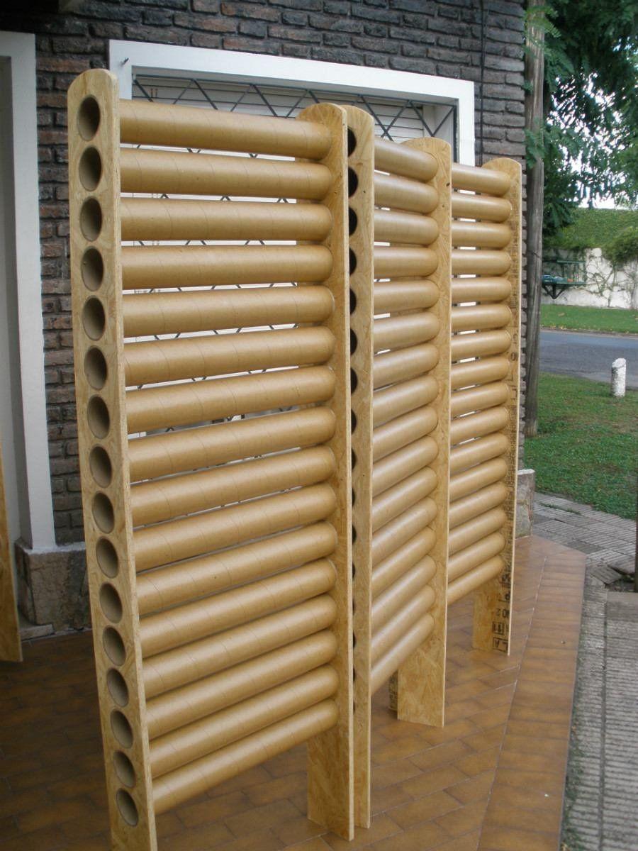 C Mo Hacer Muebles Con Cart N Que Sean Resistentes Cart N  # Muebles De Tubos De Carton