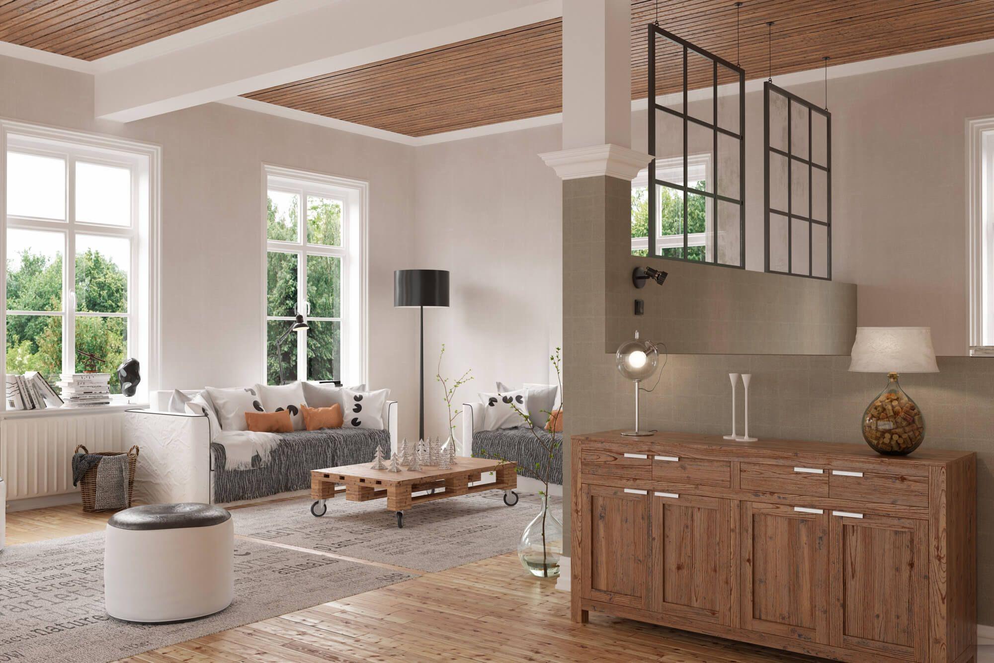 A Scandinavian interior is about simplicity. No riot of garish ...
