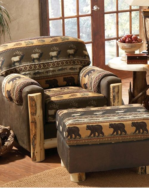 style trees quilt olde american and collections cabins cf bear log grande cabin cushions bedding glory quilts
