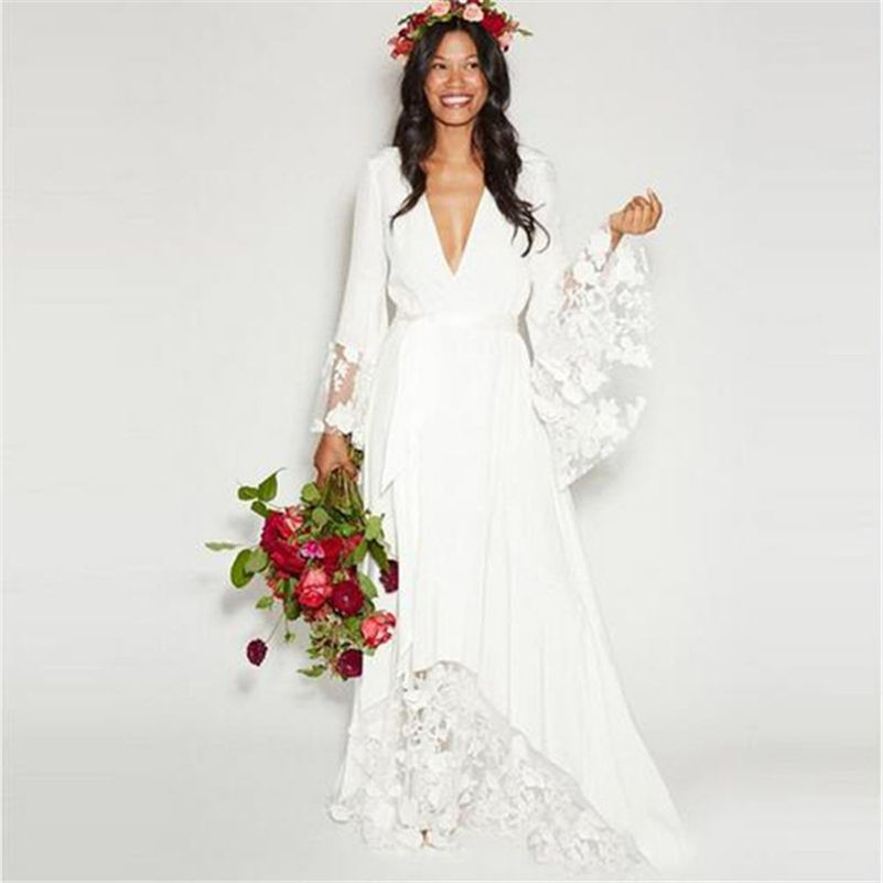 find more wedding dresses information about new luxury beach boho
