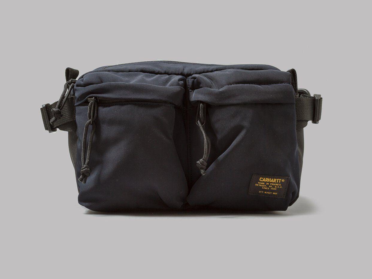 23c6fb2548 Carhartt WIP Military Hip Bag (Navy / Black) | Stuff I like in 2019 ...