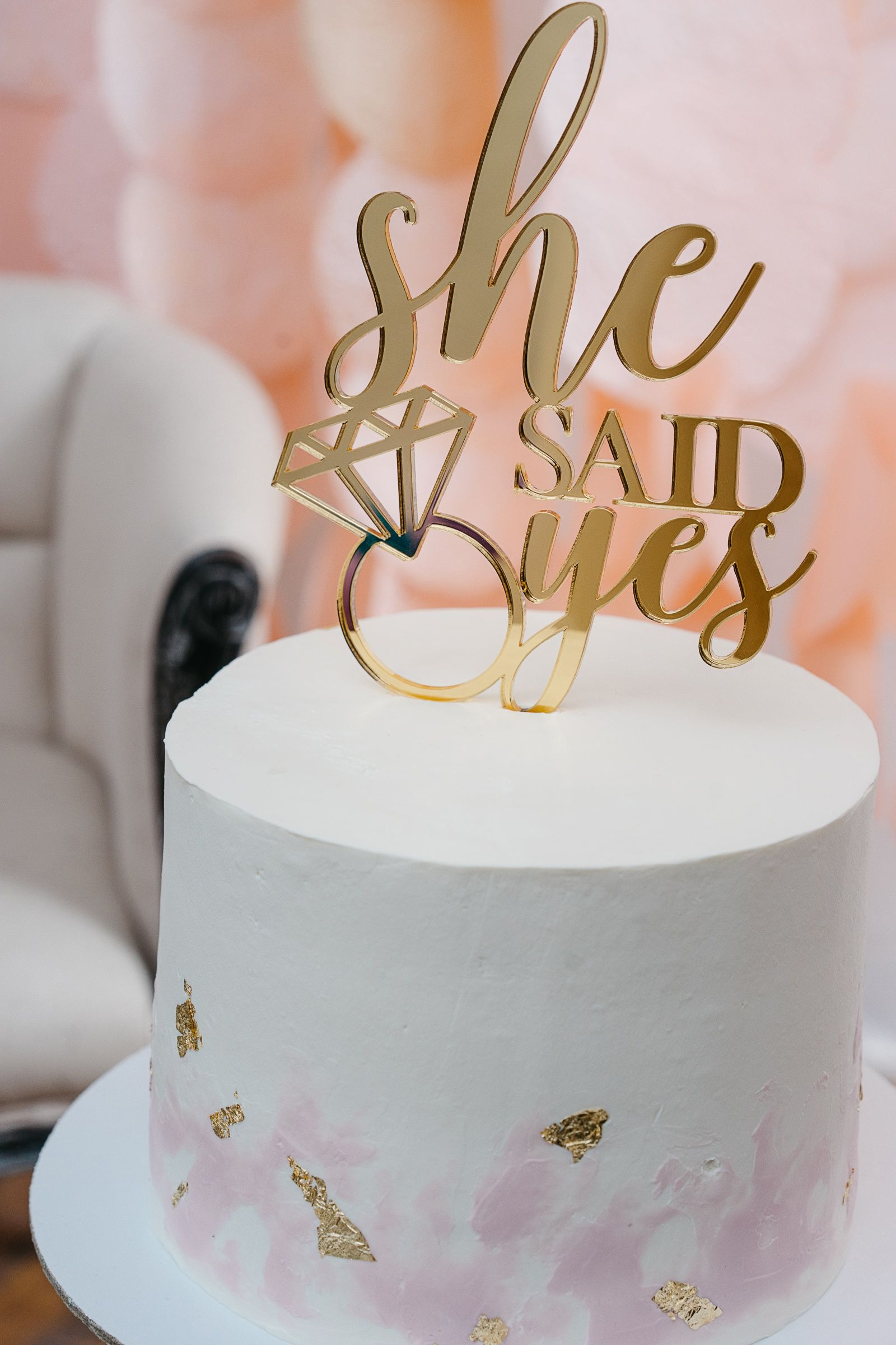 12 He Asked* She Said Yes* Cake Toppers Hen-Engagement-Bridal Shower Party