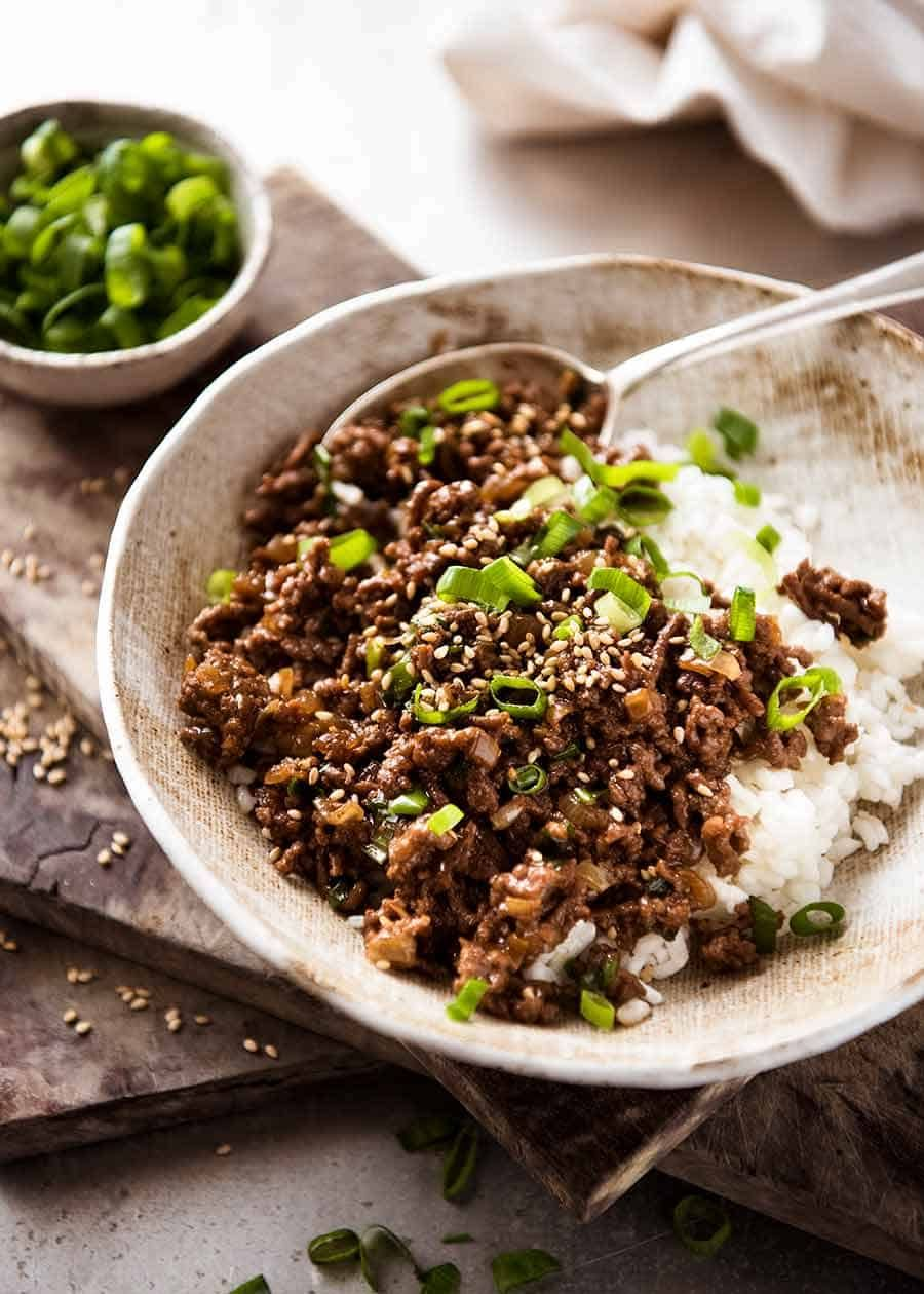 Asian Beef Bowls images
