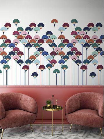 Épinglé par Stich Q sur deco | Fresque, Papier peint, Décoration murale