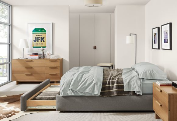 Room  Board Mallory Storage Bed Products Pinterest Modern