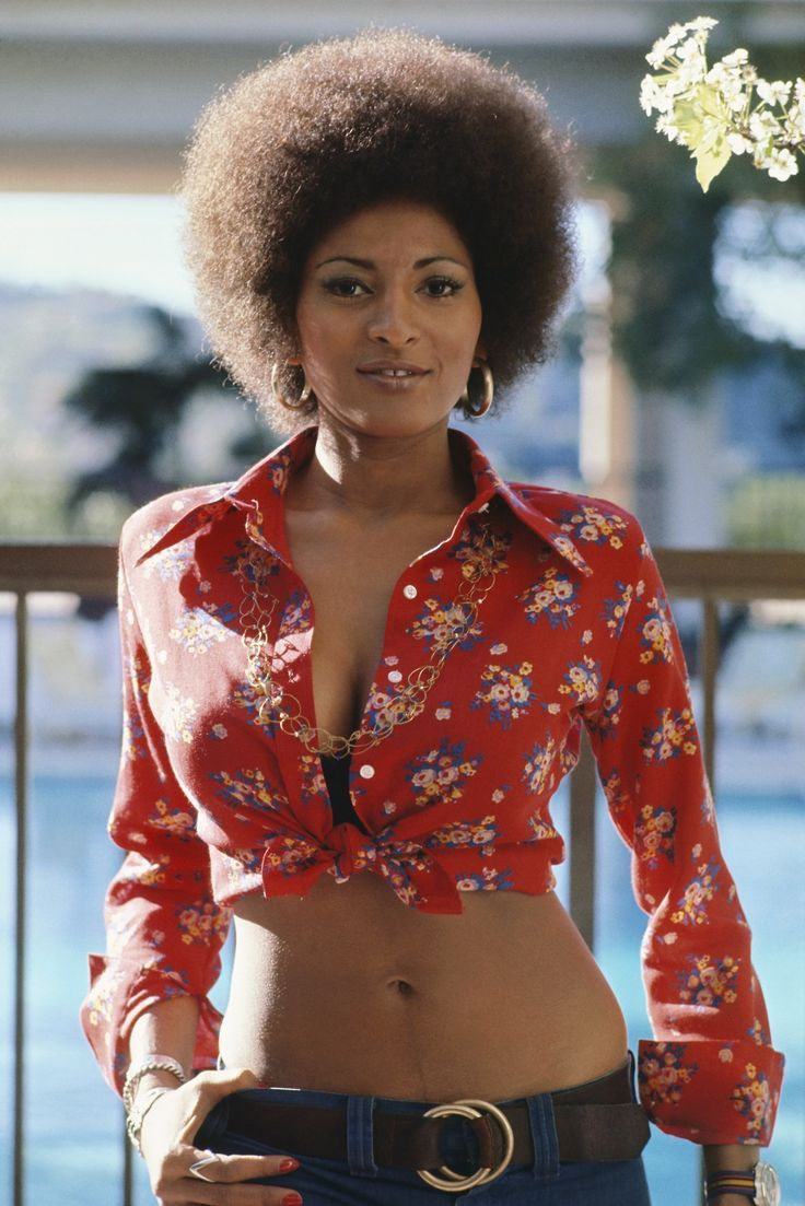 Jackie Brown Afro