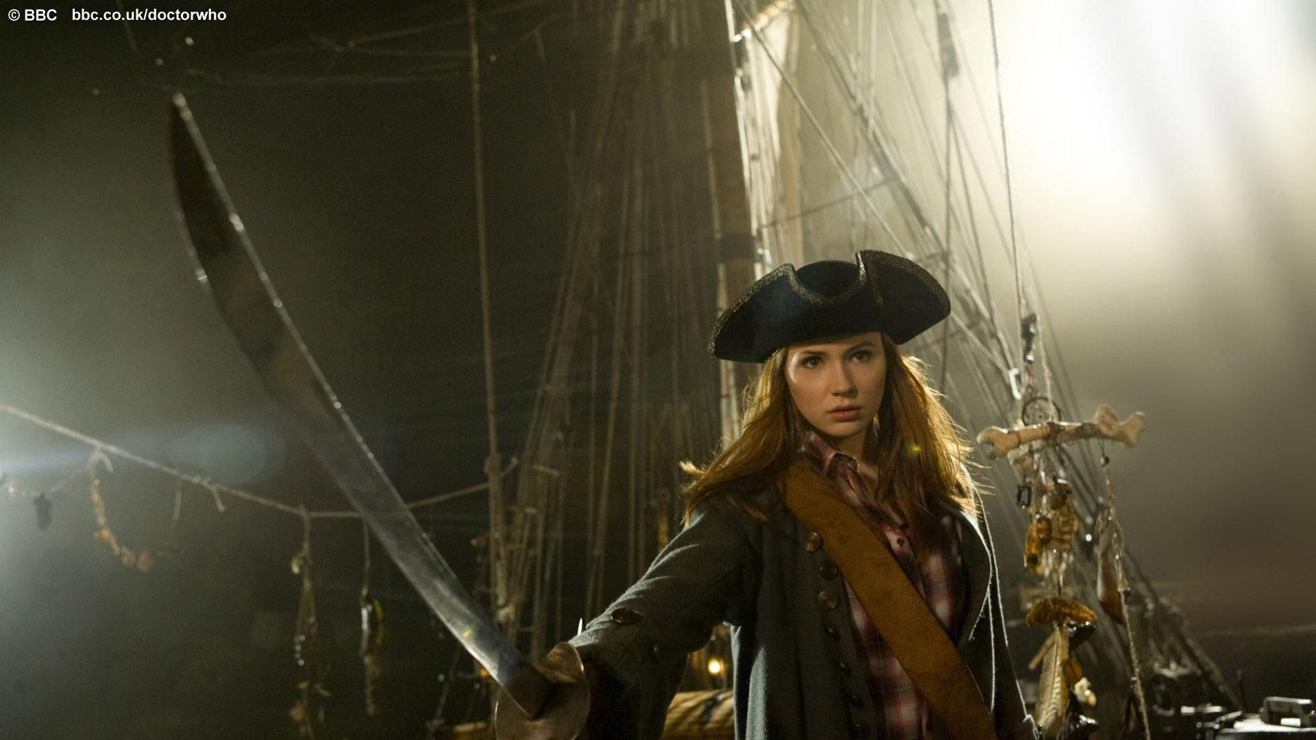 Amy Pond, the pirate !