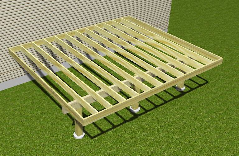 Cantilevered Deck In 3d Pool In 2019 Deck Design Deck