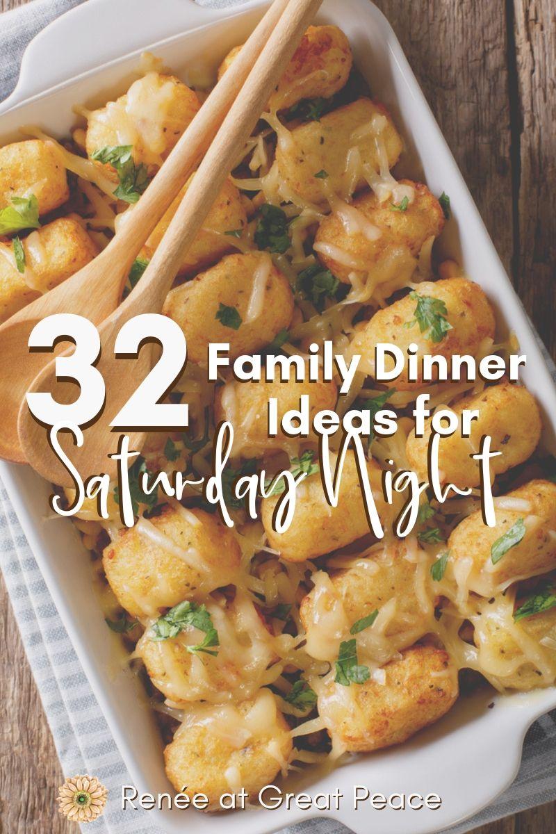 Family Dinner Ideas for Saturday Night images