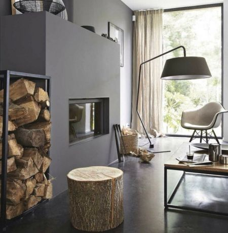 un tabouret ou une table d 39 appoint avec un tronc d 39 arbre d co d co et d co pinterest. Black Bedroom Furniture Sets. Home Design Ideas