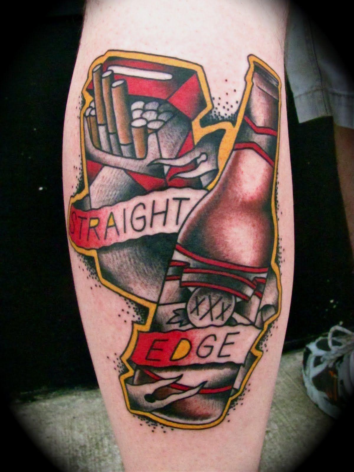 Straight Edge Tattoos: Food Tattoos, Straight Edge Tattoo, Tattoos