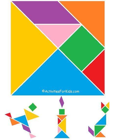 printable tangrams  chinese new year activity  tangram