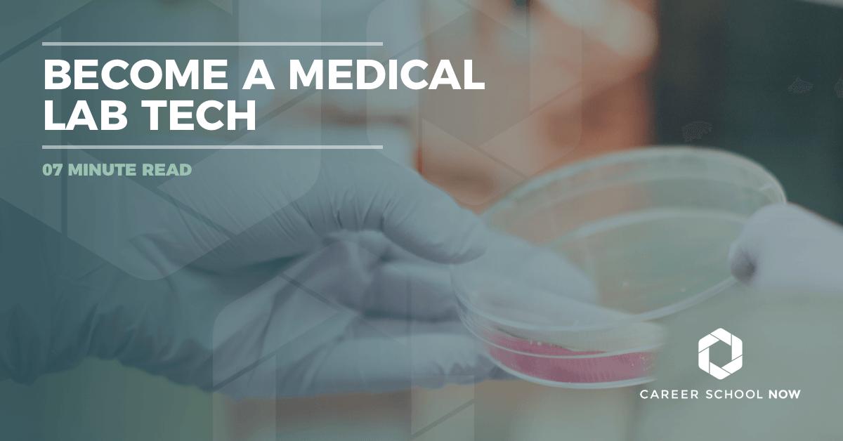 a Medical Lab Technician Lab Tech Career