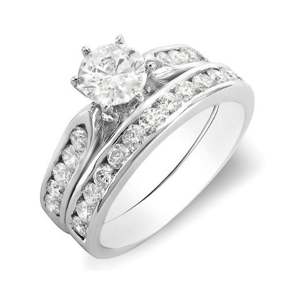perfect 1 carat round diamond wedding ring - Diamond Wedding Rings For Her