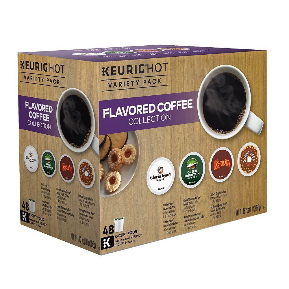 Keurig® KCup® Pod Flavored Coffee Variety Pack 48pk