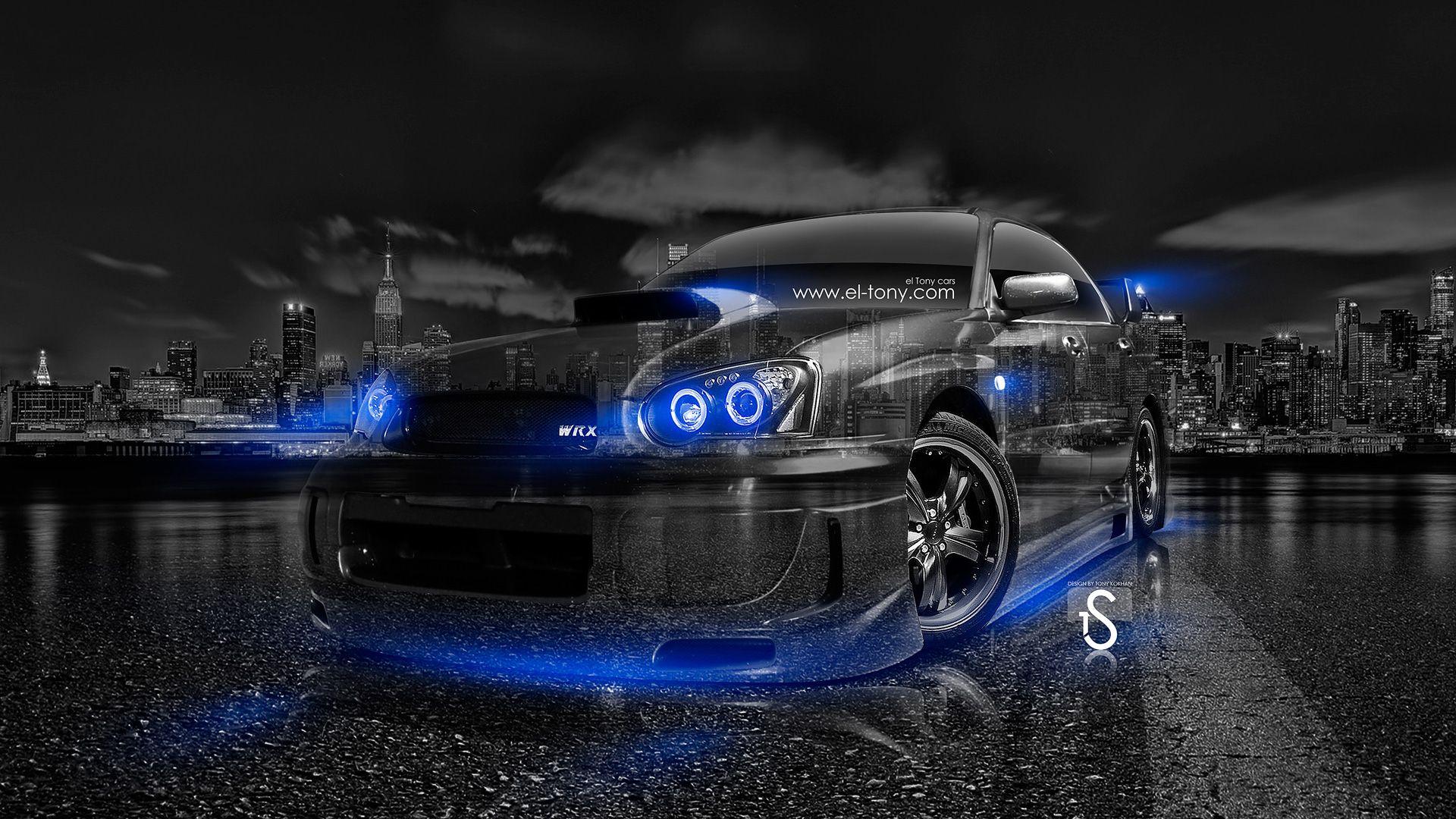 Subaru Impreza WRX STI JDM Crystal City Car