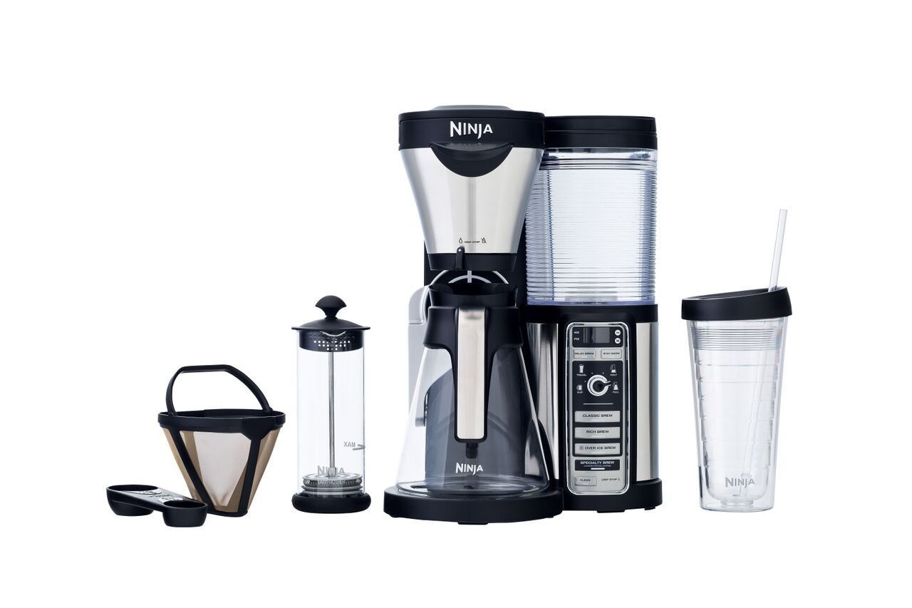 Ninja Coffee Bar Auto IQ Coffee Brewer Hot Cold