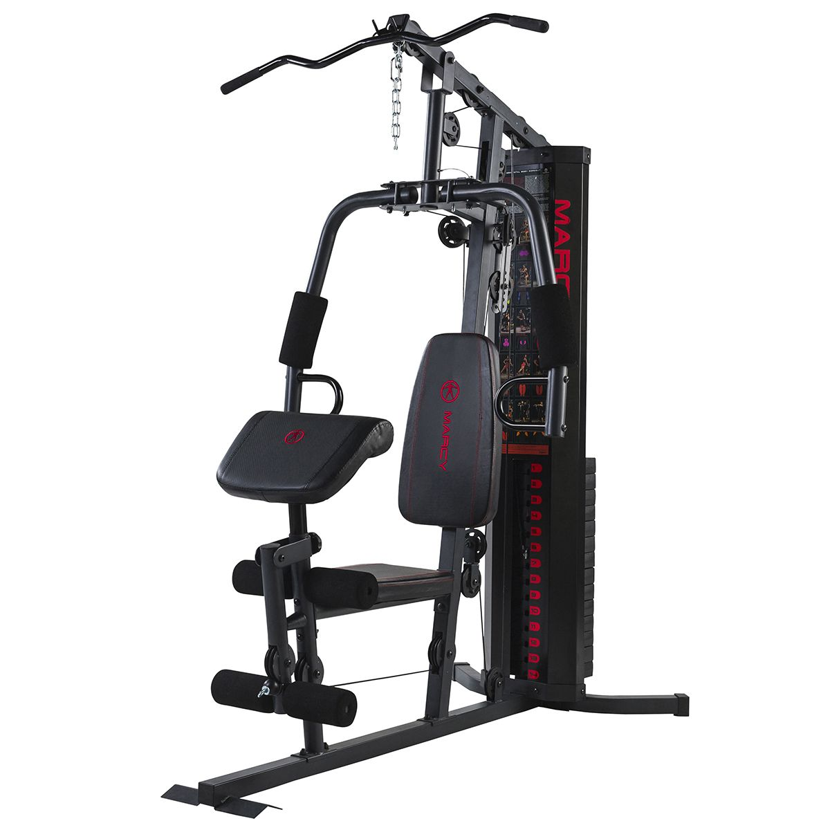 Marcy eclipse hg compact home gym lat pulldown