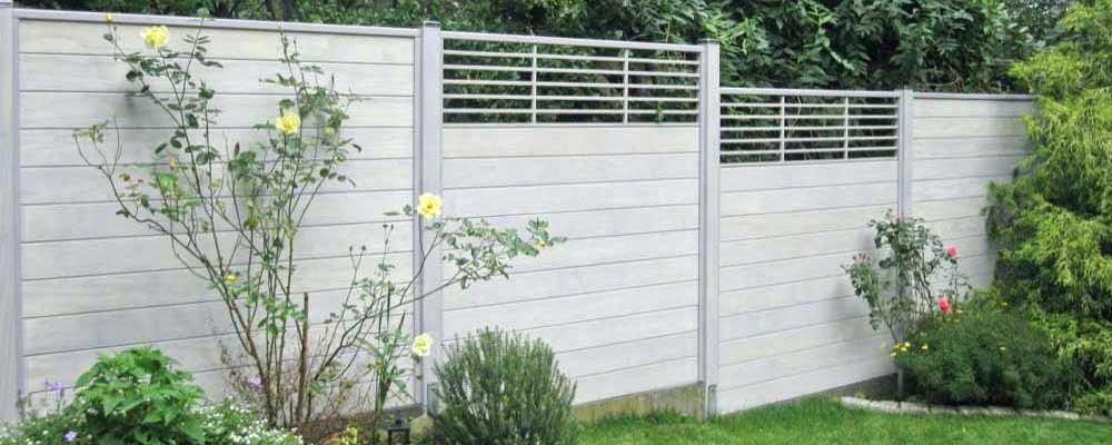 Sichtschutz Holz Stecksystem Accoya Balkon Obi 180x180