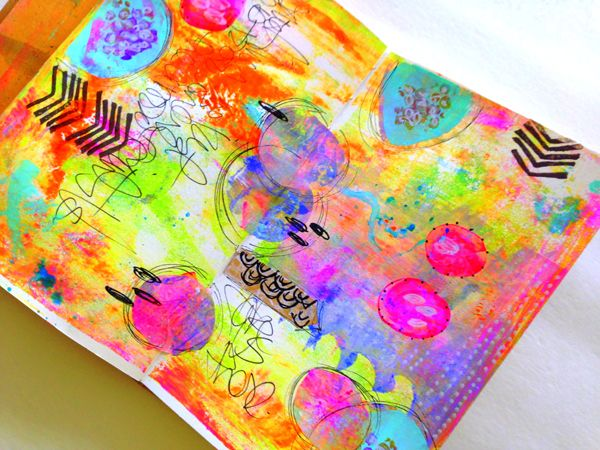 rae missigman journal #artjournalmixedmediainspiration