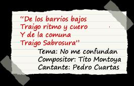 Pedro Cuartas,  frase del mes de agosto, Latina Stereo