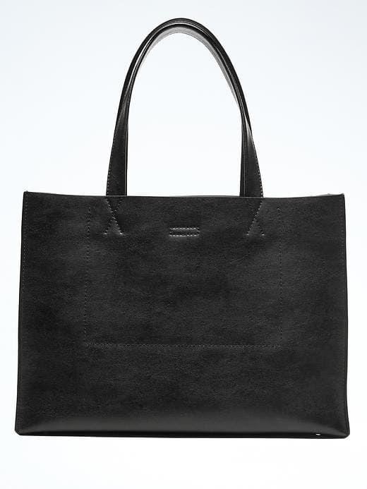 6ca0c3bcad4c Portfolio Structured Leather Tote