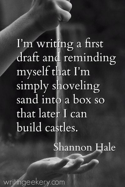 Writing Quotes Best 103 Bracing Quotes To Propel You Through Your First Draft  Writing