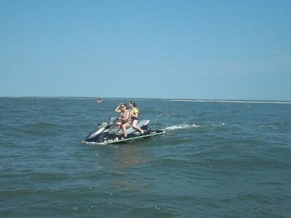 Barefoot Resort Watersport Rentals Jet Ski And Pontoon Boat Rentals Myrtle Beach Sc With Images Pontoon Boat